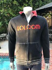 Volcom sporty black & red zip up jacket- Men's M
