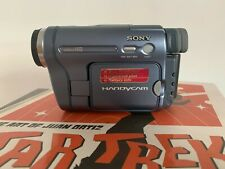 SONY CCD-TRV228E ANALOGUE CAMCORDER (Hi8 8mm Video 8 Playback SP/LP )