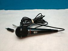PHILLIPS PH62080 CABLED MICROPHONE, KARAOKE/DJ MIC 1/4 INCH PLUG