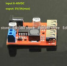 DC-DC Converter Spannungswandler 12V-40V auf 5V 3A USB Stromversorgung Power PSU