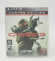 Crysis 3 Hunter Edition (PlayStation 3, 2013) PS3 Complete CIB