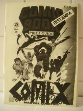 Comix numero 1 Pubblicazione amatoriale aprile 1988.