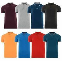 Crosshatch Boys Smart Polo Shirt Older Teenager Age 16 Years Top T-shirt XS Mens
