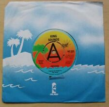 "KING SOUNDS PATCHES 7"" 1980 A LABEL WITH HAPPINESS UK"