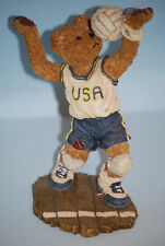 "#2285385 ""Pat B. Bruin"" On The Line 2002 Boyds Bear Collectible Figurine"