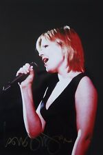 Original hand signed mounted photo of Dido 10.3 x 8 inches by Mel Longhurst