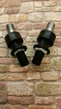 Scan Speak Tweeters, ball joint set angle adjustable black anodized forTweeters