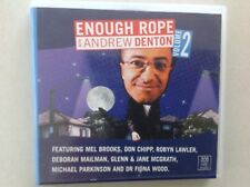 ENOUGH ROPE WITH ANDREW DENTON Vol. 2 - Very Rare ABC label 3CD Set, Good as New