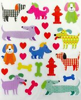 Puppy Patterned Stickers Pets Animals Stickers Planner Papercraft Party Invites