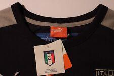 PUMA Italia Mens Soccer Futbol T7 ITALIA Badge T Shirt Camicia Camiseta Stitched