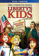 LIBERTY'S KIDS THE COMPLETE TV SERIES NEW DVD FREE SHIPPING!!