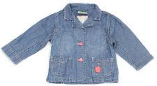 TOPOLINO Jeans-Jacke mit pinken Details - 80