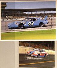 ST VINCENT 1996 Block 402-03 Richard Petty Rennfahrer Race Driver Cars Autos MNH