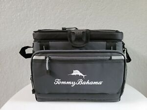 Tommy Bahama Zipperless Cooler Bag BackSaver Insulated Ice Bag, 30 CAN, GRAY