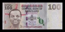 B-D-M Suazilandia Swaziland 100 Emalangeni 2010 Pick 39 AA SC UNC