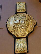 WWE WWF WORLD HEAVYWEIGHT CHAMPIONSHIP METAL ADULT TITLE BELT WCW