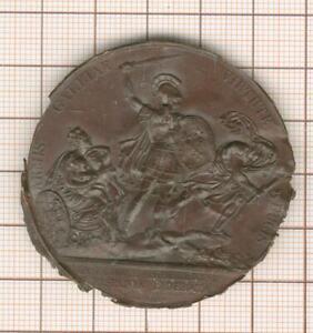 Hispania Liberata Fußabdruck Medaille Par Vortrag