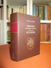 Mémoires pour servir à l'histoire de la ville de Dieppe (Tomes 1 et 2). Relié