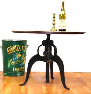 BULK Iron Crank 10 Tables Adjustable Height Urban Factory Bar Furniture