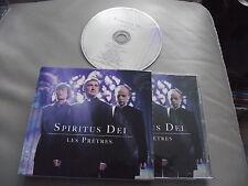 SPIRITUS DEI : LES PRETRES ORIGINAL CD ALBUM 2010 BONUS TRACKS