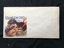 US WWII Patriotic Envelope 1939-1945 Stamp 'Em Out!
