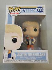Funko Pop Rocks #111 Nsync Justin Timberlake