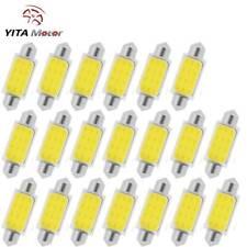 YITAMOTOR 42MM Festoon COB LED Dome Interior Light Bulb White 578 569 579 211-2