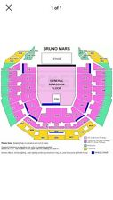 Bruno Mars, Perth Arena, Price is for 2 tickets