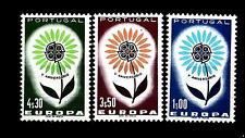 PORTUGAL - PORTOGALLO - 1964 - Europa. Fiore con 22 petali. Ottima centratura