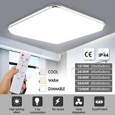 LED Ceiling Lights Square Panel Down Light Living Room Kitchen Bedroom Wall Lamp