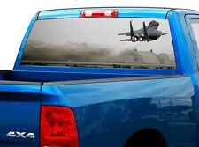 P480 USAF Air Force Rear Window Tint Graphic Decal Wrap Back Truck Tailgate