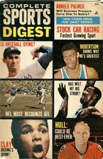 1965 Complete Sports Digest Magazine Cassius Clay, Koufax, Jim Brown, Wilt, Hull