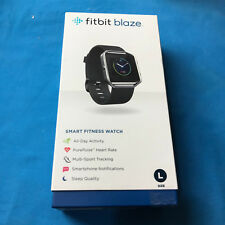 New Fitbit Blaze Black Smart Fitness Watch - Large  ✔Ships Same Day  Free!!
