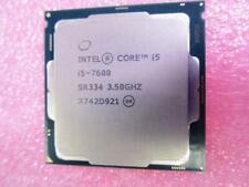 Intel Core i5-7600 3.5GHz 4-Core 6M Cache 65W GPU HD 630 CPU SR334