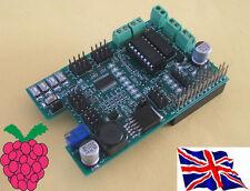 Rs-Pi L293D -2  4 Motor & 16 PWM / Servo Robot Board w/ PSU for Raspberry Pi
