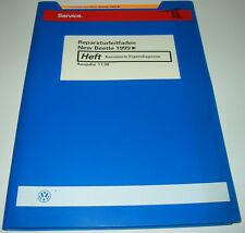 Werkstatthandbuch VW New Beetle Karosserie Eigendiagnose Stand November 1998!