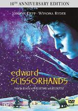 Edward Scissorhands DVD -10th Anniversary Edition -Johnny Depp, Winona Ryder -R4