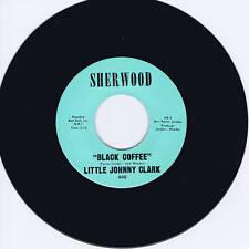 LITTLE JOHNNY CLARK - BLACK COFFEE - FANTASTIC & RARE HARP BLUES STROLLER