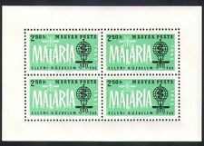 Hungary 1962 Malaria/Medical/Insects/Health/Welfare 4v m/s (n34691)