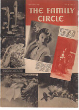 FAMILY CIRCLE magazine May 22, 1936 Food for Thought cartoons, Myrna Loy cover