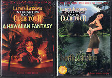 Lot of 2;Latoya Jackson's Interactive Exotic Club Tours: Hawaii & North Carolina