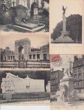 MILITAIRE GUERRE MILITARY WAR MONUMENTS FRANCE 400 Cartes Postales 1900-1940