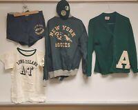 Vtg. Long Island A&T New York Aggies Suny Farmingdale: Sweater, Jacket, P.E. +++
