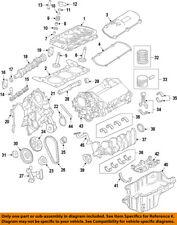 FORD OEM-Engine Crankshaft Crank Seal 1F2Z6723AA