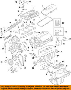 FORD OEM-Valve Seal 1F2Z6571AA