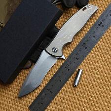 B008008 CH Matsuda male KM610 SUBARU tactical folding knife D2 blade KVT bearing