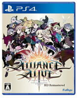 Alliance Alive HD Remaster Sony Playstation 4 PS4 Games From Japan Tracking NEW