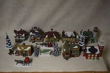 Dept 56- Lot Of 14 Heritage Village Collection - New England Village Series