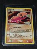 Pokemon- Trapinch-67/92- Ex Legend Maker Stamped- Rare- Holo- NM-Plus!!!