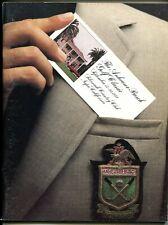 Anheuser-Busch Classic Golf Tournament Program 9/1979-Silverado-NM